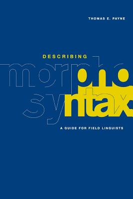 describing morphosyntax a guide for field linguists