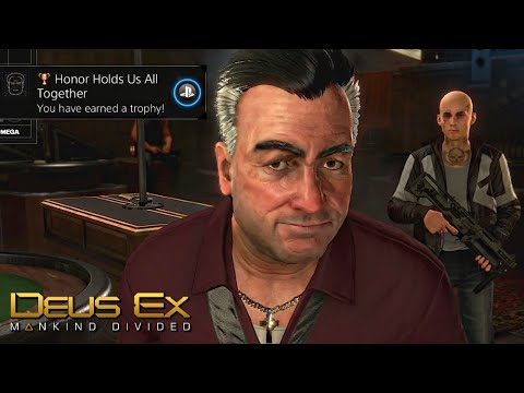 deus ex mankind trophy guide