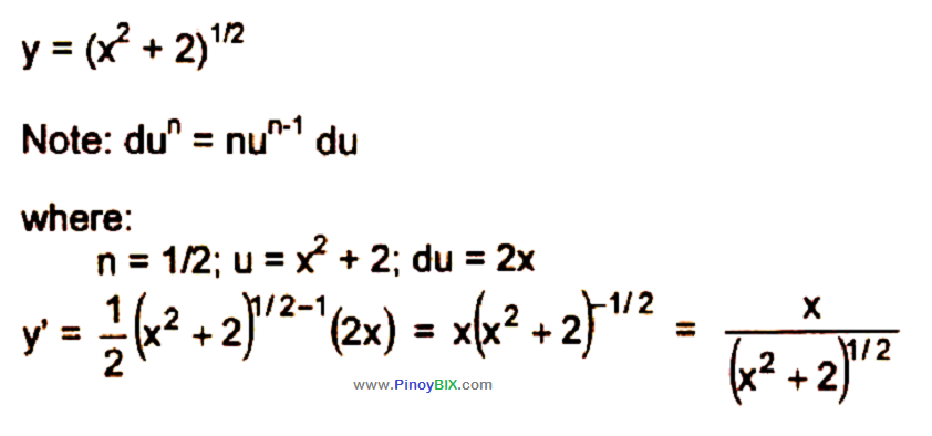differential calculus problems and solutions pdf