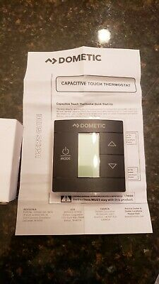 dometic capacitive touch thermostat instructions