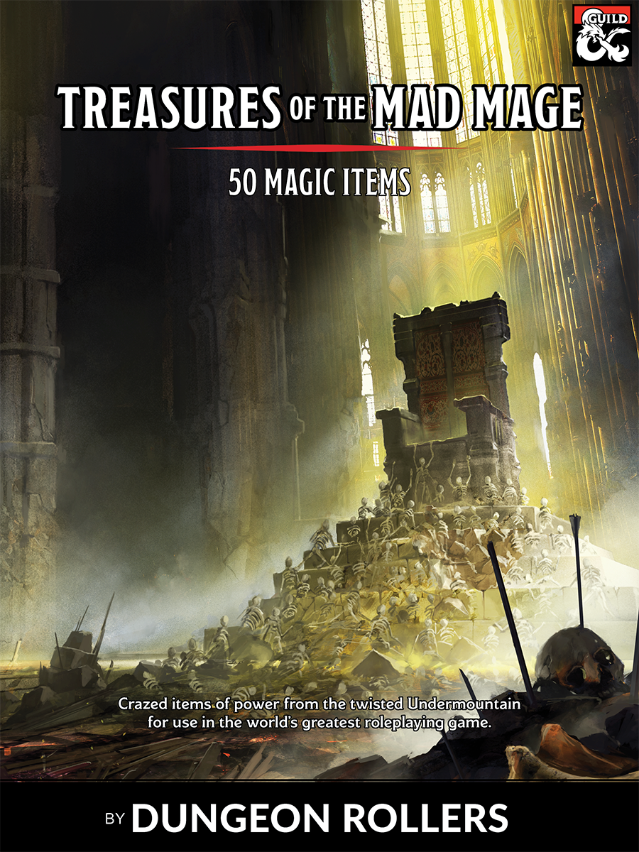 dungeon mad mage pdf