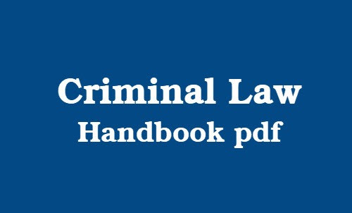 criminal law book pdf
