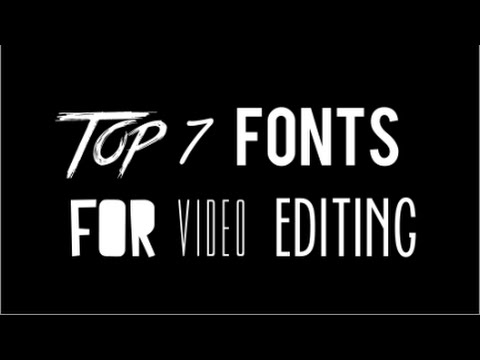 best font styles for pdf
